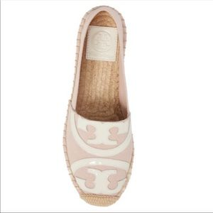 Tory Burch espadrilles. Light pink color, size 11